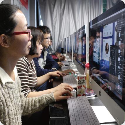 唐人学校教学环境